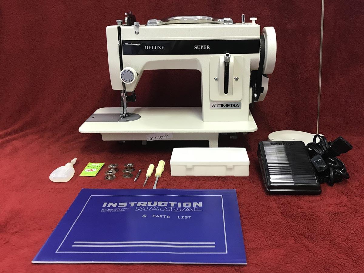 Omega Wf21ss Straight Stitch Walking Foot Sewing Machine