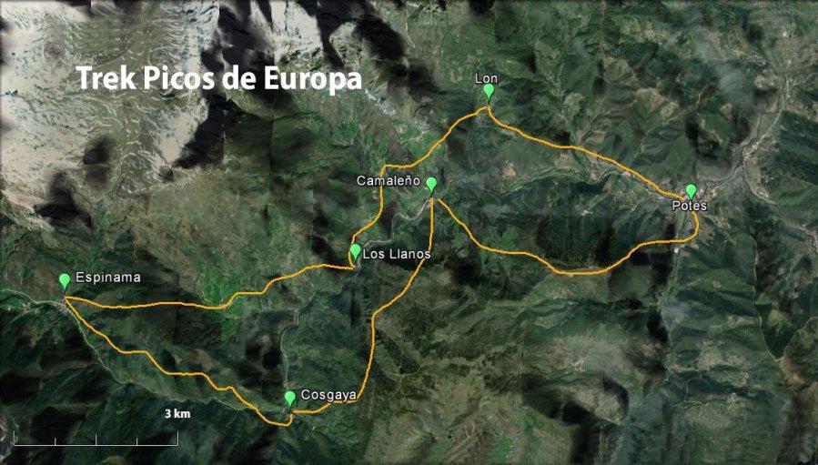 Trek Picos de Europa