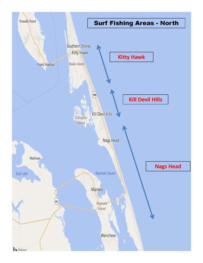 Surf Fishing Areas - North  Presentation