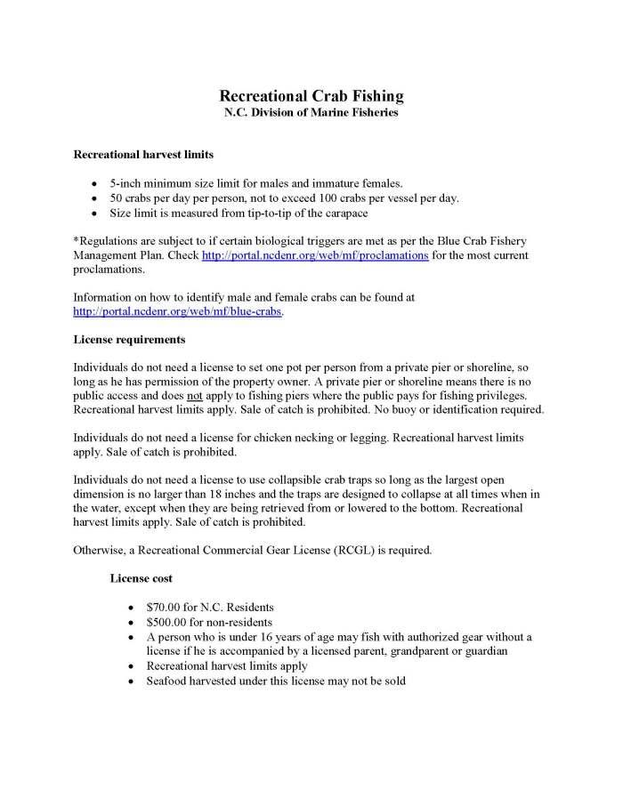NCMF Crabbing Regulations_Page_1