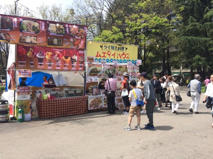 Thai Food Festival in Hibiya Park