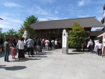 Akagi Shrine in Kagurazaka