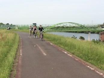 Cycling Road along the Edo River