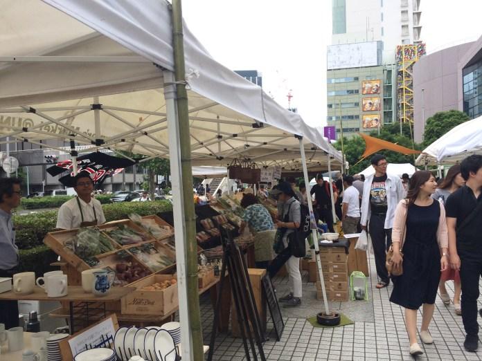 Farmers Market in Aoyama