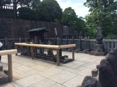 Graves of 47 samurai