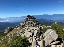 Gojo-iwa rocks and the top of Mt. Kimpu
