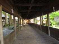 Nuno-bashi - the corridor where only the highest oracle was allowed to pass through