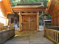 """Four Pillar Gate"" which was made by the order of Tokugawa Ieyasu, the Shogun."