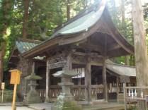 The Main Gate of Hon-Miya of Suwa Taisha