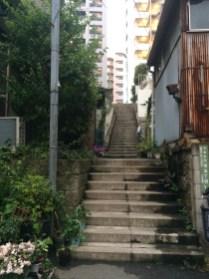 Steps in Hongo