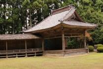 Noh Stage in Ushio Jinja Shrine