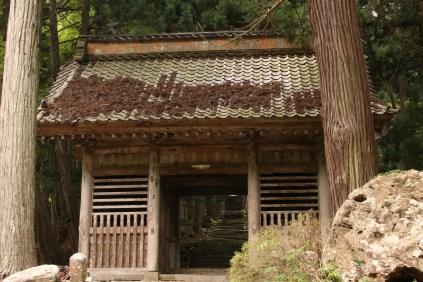 Nil-Mon Gate of Seisui-ji Temple