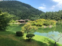 Kikugetsu-tei Tea House and South Pond
