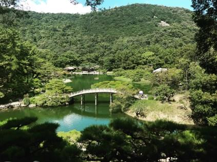 a view of Ritsurin Garden