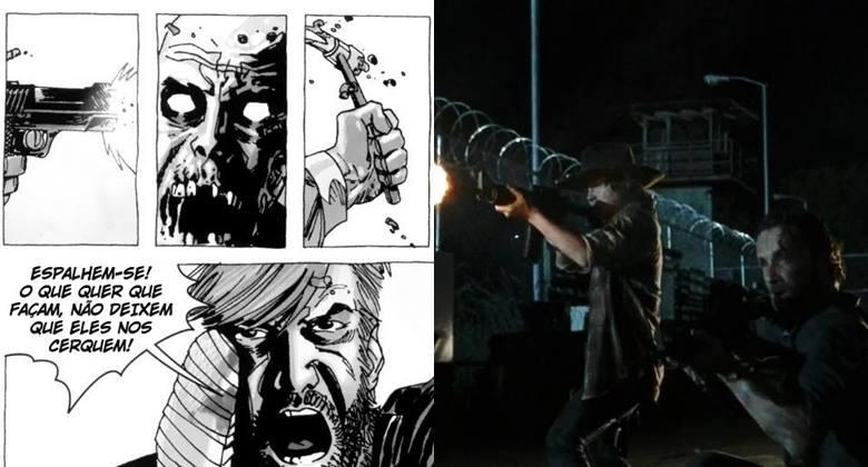 [SÉRIE vs HQ] The Walking Dead – Episódio S04E05 –