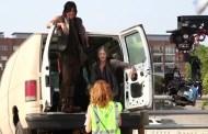 Bastidores da 5ª temporada de The Walking Dead: S05E06 -