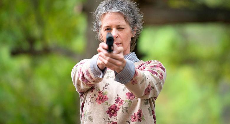 Melissa McBride fala do lado assustador de Carol e suas ameaças