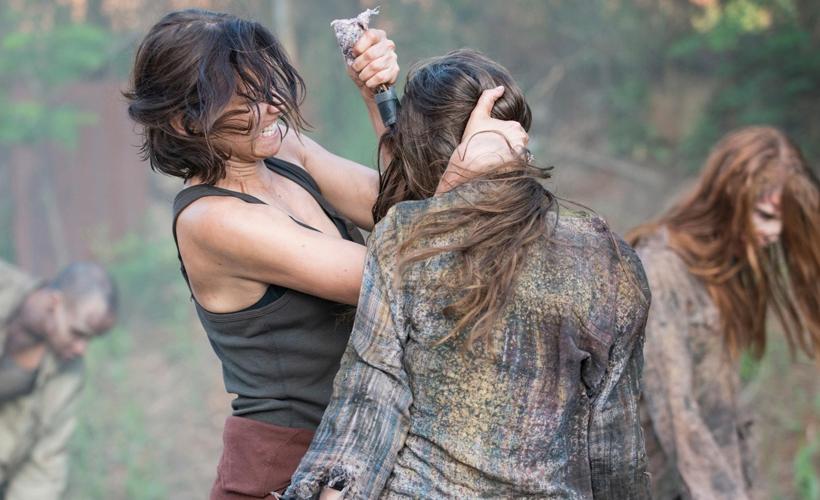 The Walking Dead Enquete: Qual a sua jornada feminina preferida na quinta temporada?
