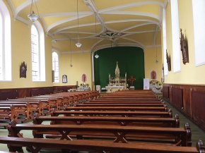 Interior of the Church of the Holy Trinity, Durrow, Co. Laois.
