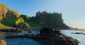 Duncluce Castle on the Giant Causeway Coastal Route