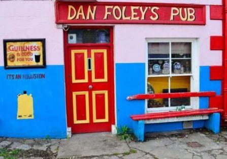 Dan Foley's Pub in Kerry Ireland
