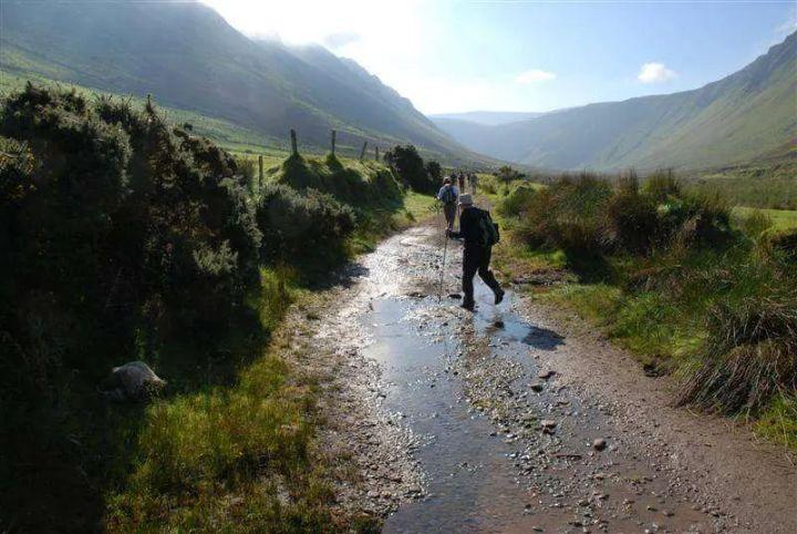 Hiking in Dingle Kerry Ireland