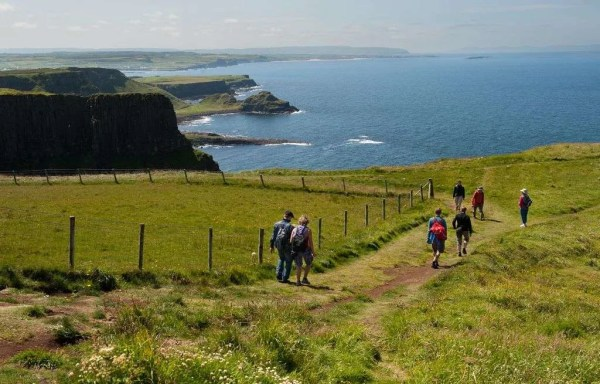 Hiking along the Causeway Coast