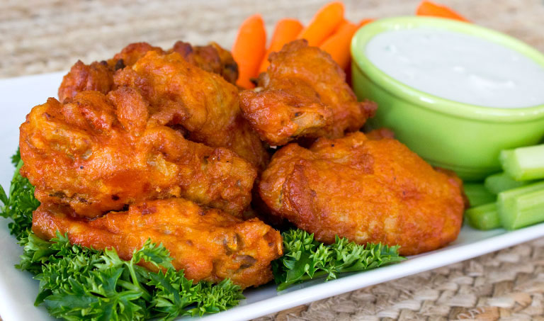 Hot & Spicy Chicken Wings from Trader Joe's