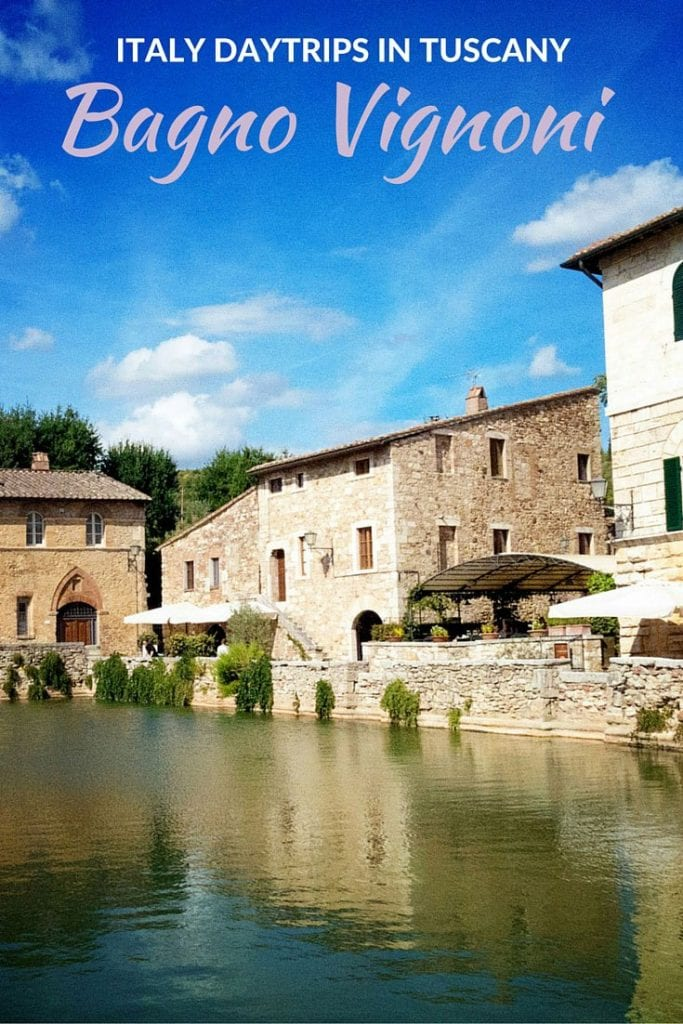 Italy Day Trips to Bagno Vignoni in Tuscany