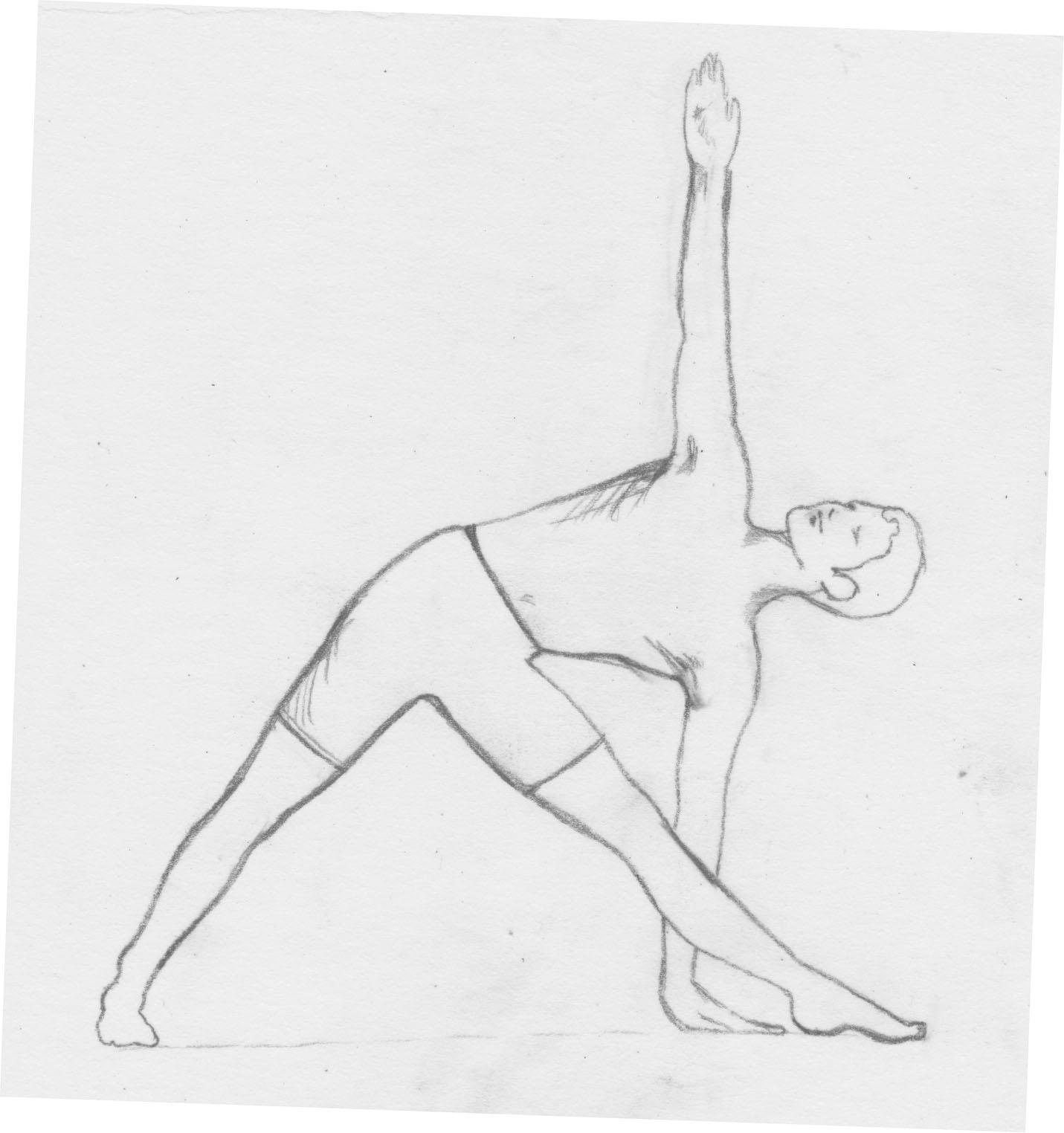 Yoga Poses Font