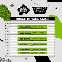 Escenario House of Vans