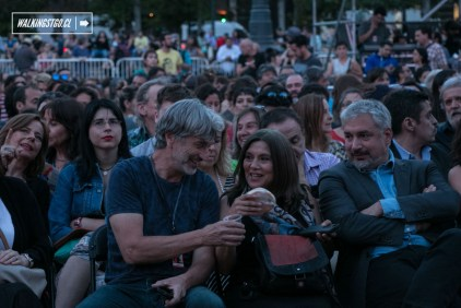 Espectadores - Andrés Pérez de Memoria - Santiago a Mil 2018 - Plaza de la Constitución - 04.01.2018 - WalkiingStgo - 10