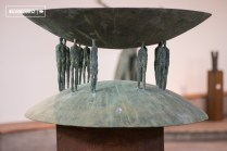 Exposición - Mario Irarrazaval - Bronces Inquietos - Sala Parque de Las Esculturas - 22.09.2017 - WalkiingStgo - 3