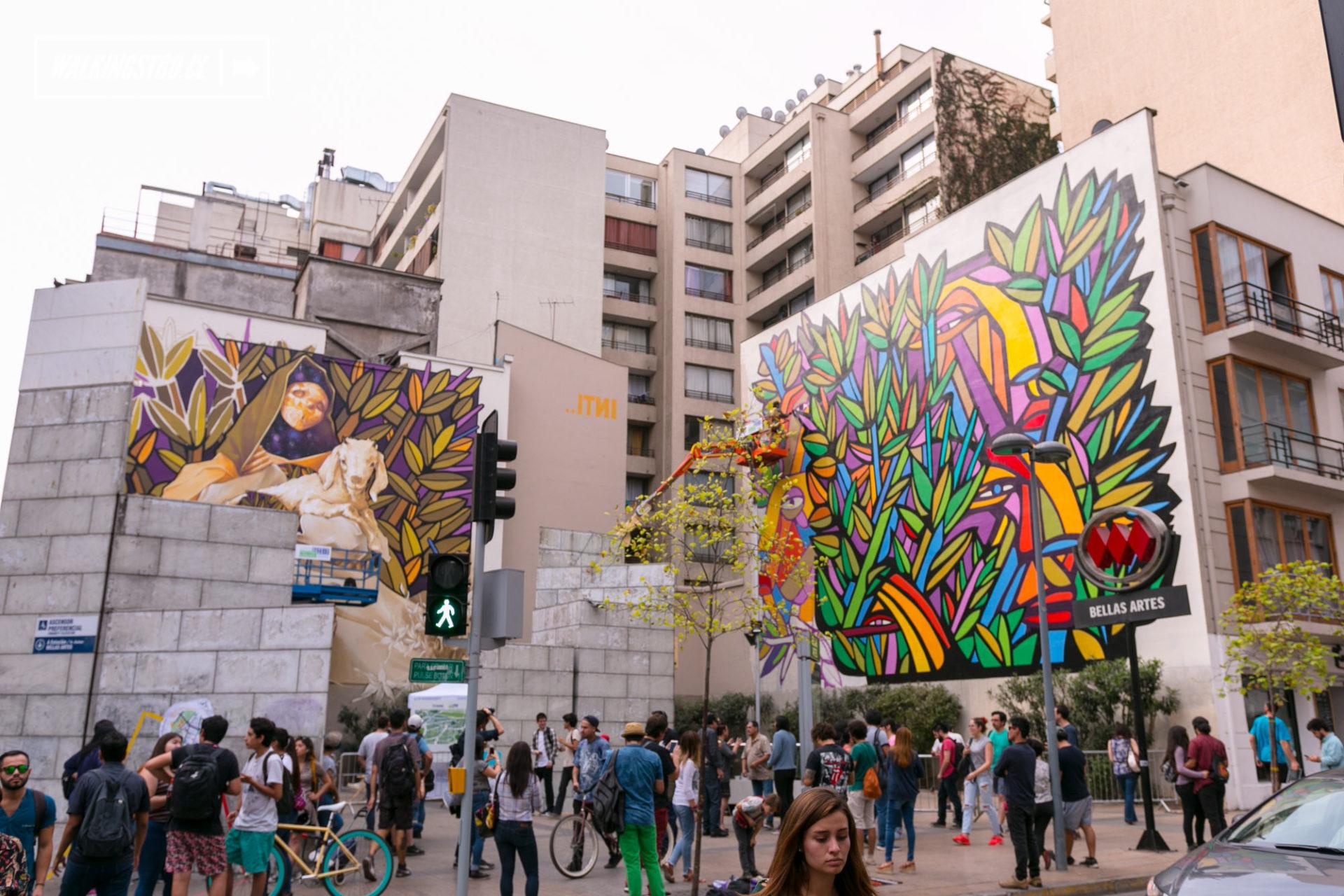 Fotos Festival Barrio Arte En El Barrio Lastarria Y El Barrio Bellas