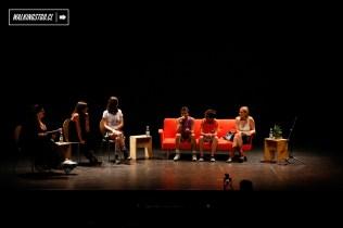 """PANEL 1 """"DESDE LA MÚSICA"""" en Ruidosa Fest SCL en el Centro Cultural Matucana 100 - 11.03.2017 - WalkingStgo - 9"""