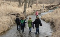 stream exploration in march ne 2011