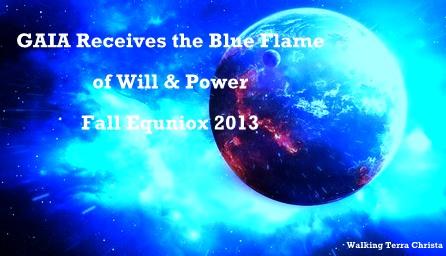 GAIA blue flame