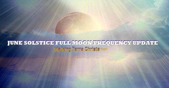 Solstice Full Moon by Walking Terra Christa
