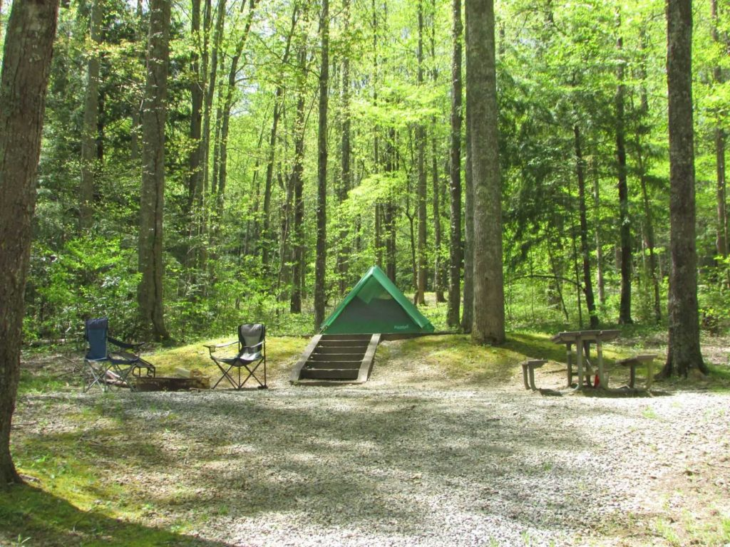 It's one of the least popular campgrounds in the park. Smoky Mountain National Park Camping Walking The Parks