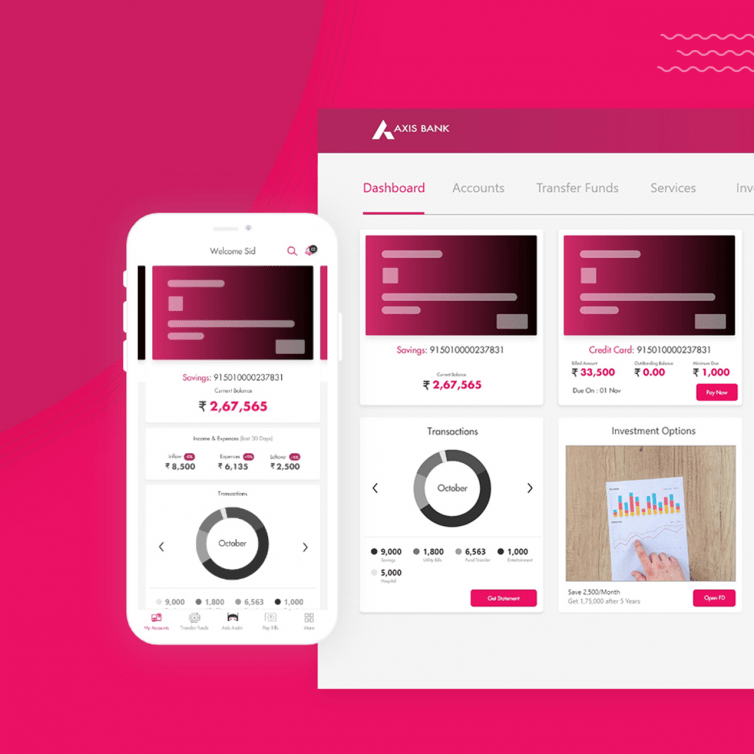 Axis Bank-Mobile App Redesign