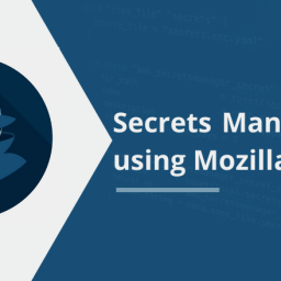 Secrets Management using Mozilla sops