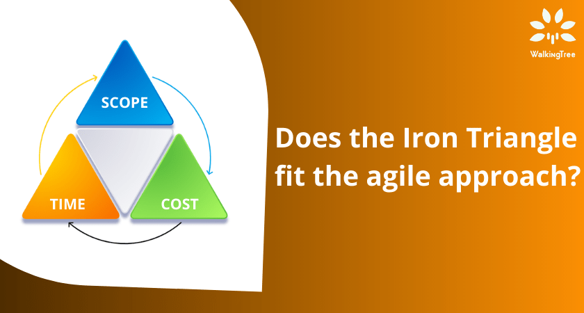 Does the Iron Triangle fit the agile approach