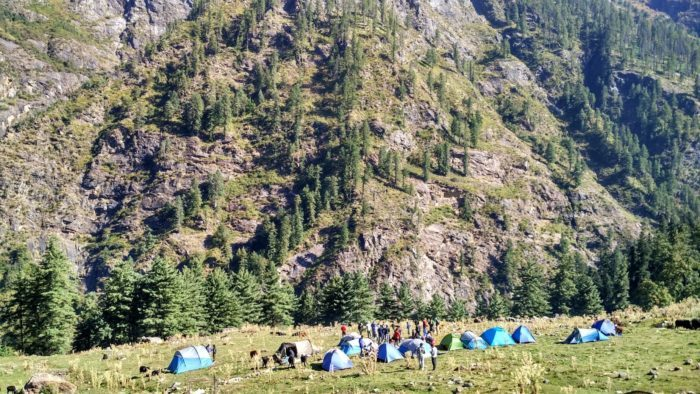 Kheerganga opened for tourists once again!
