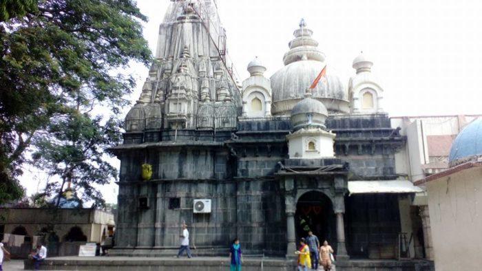 Vajreshvari Kangra Devi Temple at Nagarkot near Kangra town, Himachal Pradesh, BHARAT (India)