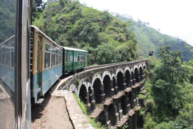 World Heritage site ,Kalka Shimla Railway