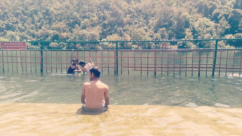 holy dip renuka lake