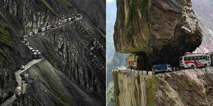 dangerous roads of india