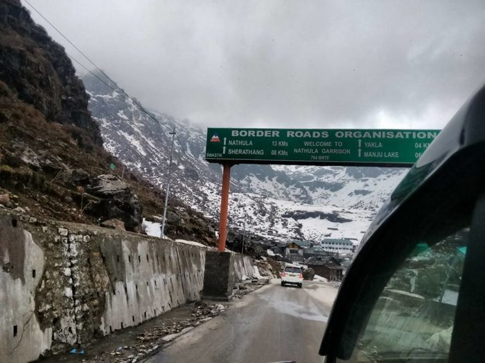 nathula pass most dangerous road