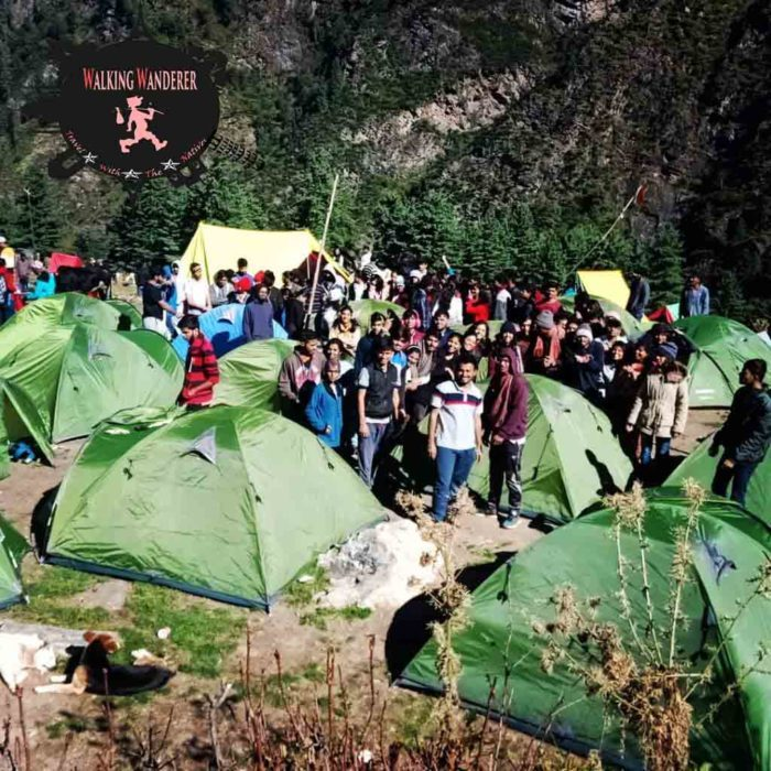 walking camps kheerganga