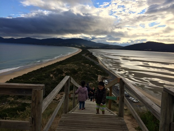 Top of Truganini Lookout, Bruny Island, Tasmania
